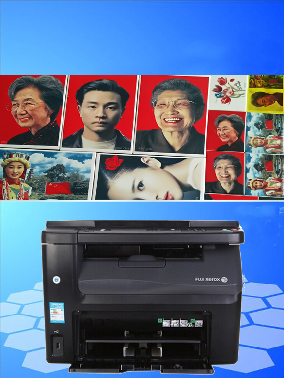 Red laser ceramic printer xerox cm118w